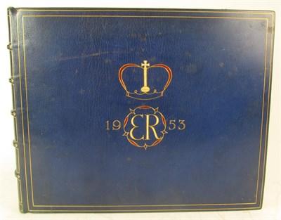 Lot 120 - Coronation Album, Queen Elizabeth II