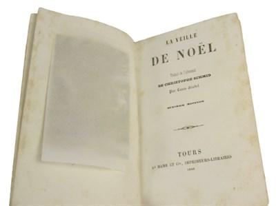 Lot 114 - Schmid, Christophe - Louis Friedel, translator into French - J.R. Abbey copy