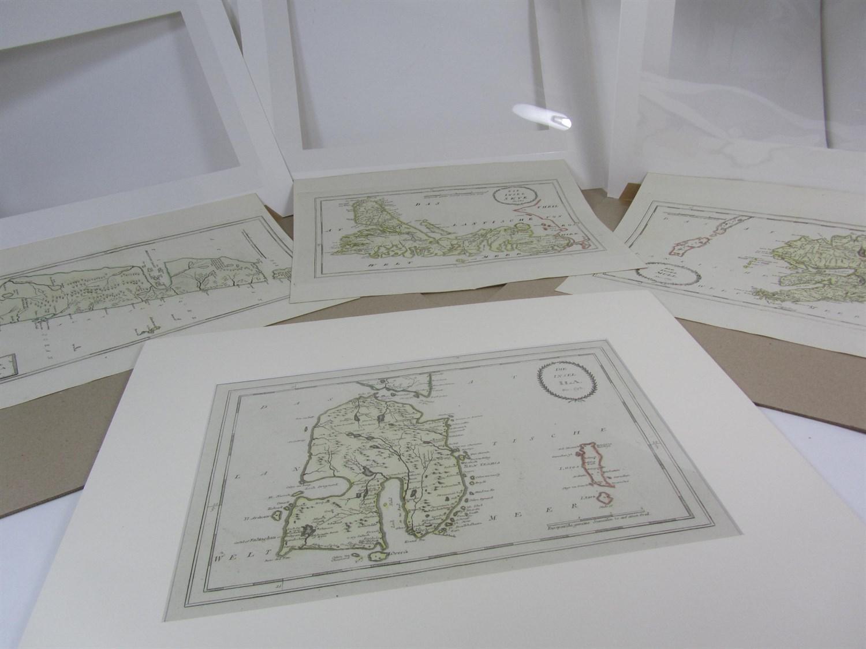 Lot 90 - Von Reilly, Franz J.J. - 4 maps, comprising: Islay, Jura, Skye, & Mull