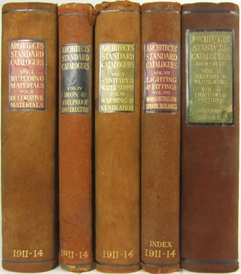 Lot 1 - Architects' Standard Catalogues 1911-1914.