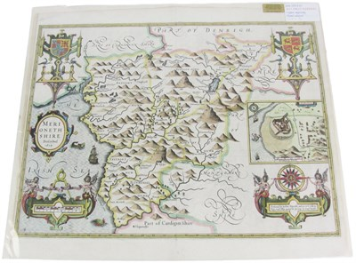 Lot 95 - Wales - Merionethshire - 5 maps, including Speed, John