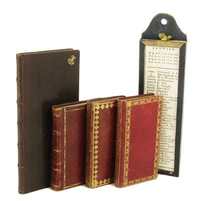 Lot 107 - French & Dutch almanacs
