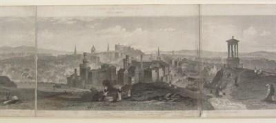 Lot 64 - Edinburgh panorama - Steuart, T.