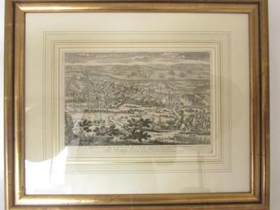Lot 66 - Edinburgh view - Pierre Aveline, c. 1700