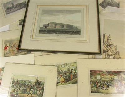 Lot 78 - McGill, Donald, watercolour; and a collection of prints