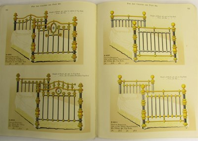 Lot 14 - Cast iron pattern books, a collection of 12 volumes, including Carron Company