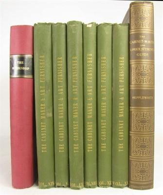 Lot 12 - Cabinet Making, 8 volumes, including Hepplewhite, A.