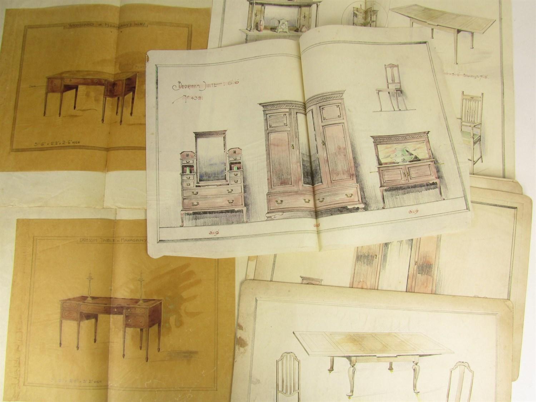 Lot 19 - Furniture designs