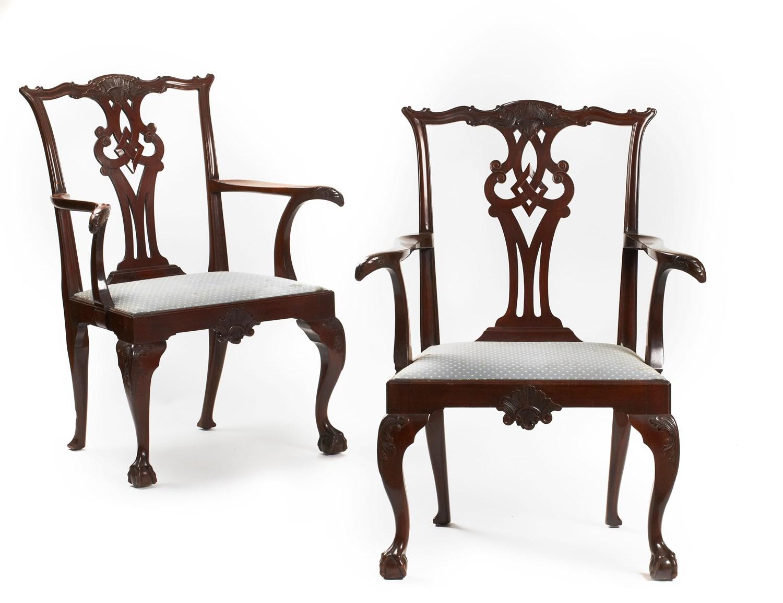 Wondrous Lot 36 Set Of Twenty Irish George Iii Style Mahogany Caraccident5 Cool Chair Designs And Ideas Caraccident5Info