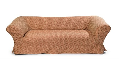 Lot 73 - VICTORIAN UPHOLSTERED CHESTERFIELD SOFA LATE...