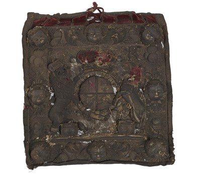 Lot 50 - FOUR FURTHER LORD CHANCELLOR'S PURSE PANELS...