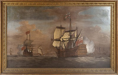 Lot 22 - ATTRIBUTED TO PETER MONAMY MORNING GUN Oil on...