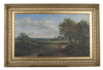 Lot 91 - EDWIN BUTTERY (BRITISH 19TH CENTURY ) FIGURES...