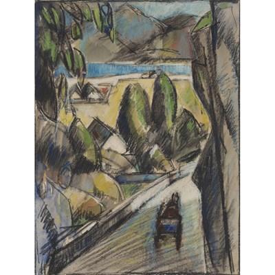 Lot 34 - JOHN DUNCAN FERGUSSON R.B.A. (SCOTTISH 1874-1961)