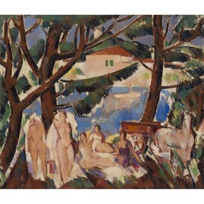 Lot 32 - JOHN DUNCAN FERGUSSON R.B.A. (SCOTTISH 1874-1961)