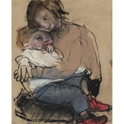 Lot 25 - JOAN EARDLEY R.S.A. (SCOTTISH 1921-1963)