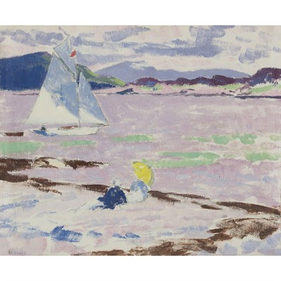 Lot 52 - FRANCIS CAMPBELL BOILEAU CADELL R.S.A., R.S.W. (SCOTTISH 1883-1937)