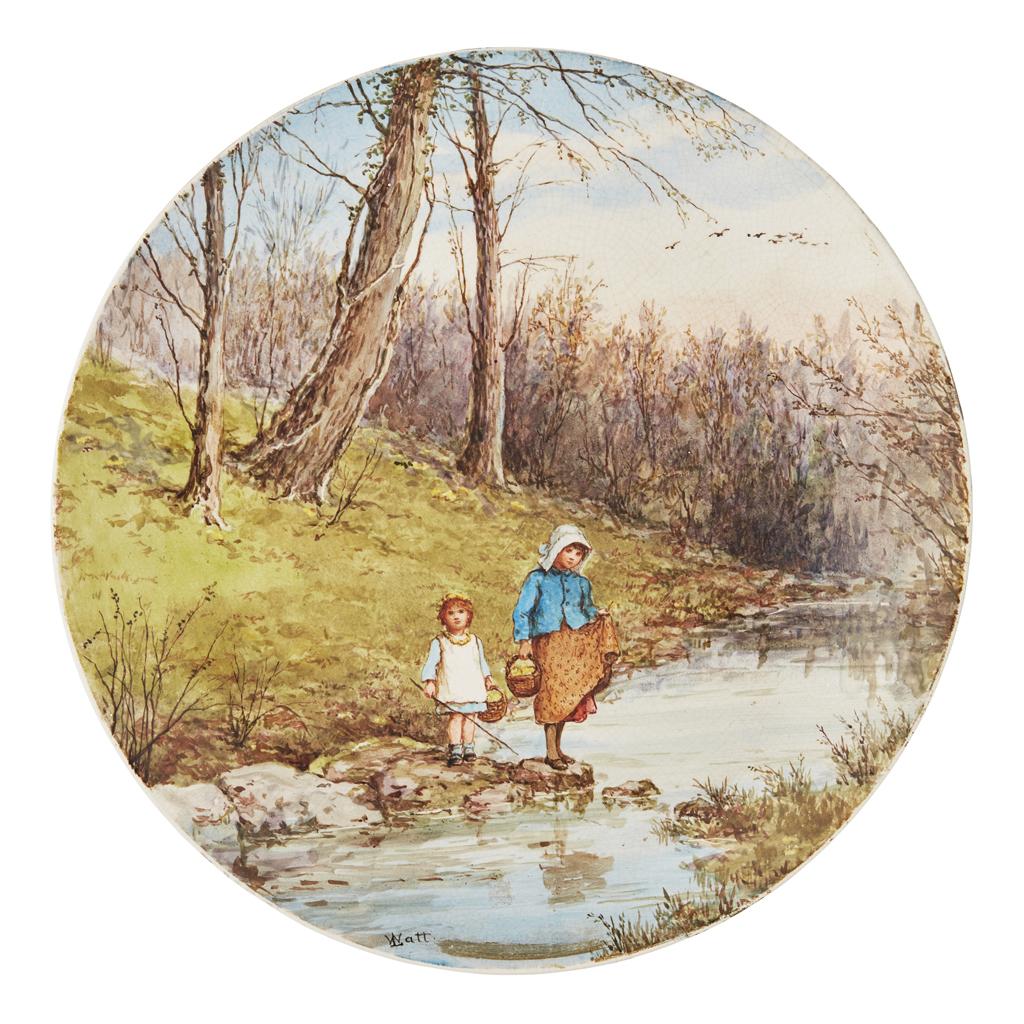 Lot 14 - LINNIE WATT (1875-1908) FOR PINDER, BOURNE & CO.