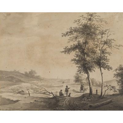 Lot 16-ANDREAS SCHELFHOUT (DUTCH 1787-1870)