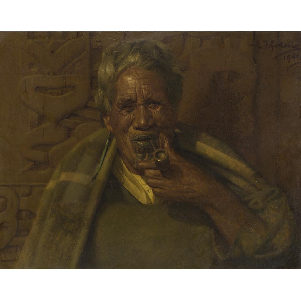 Lot 65-CHARLES FREDERICK GOLDIE O.B.E. (NEW ZEALAND 1870-1947)