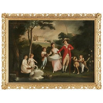 Lot 9-ALEXANDER NASMYTH (SCOTTISH 1758-1840)