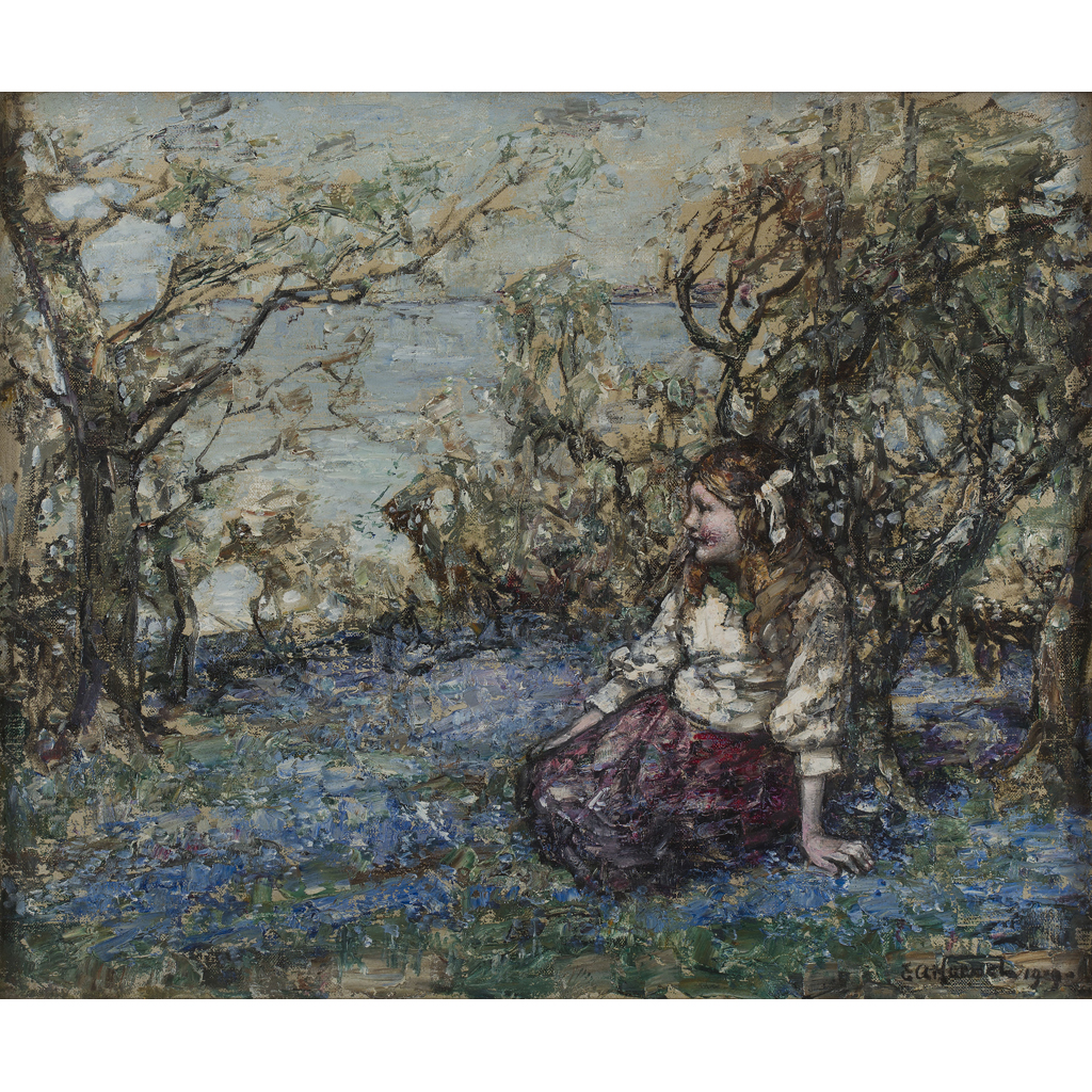 Lot 14-EDWARD  ATKINSON HORNEL (SCOTTISH 1864-1933)
