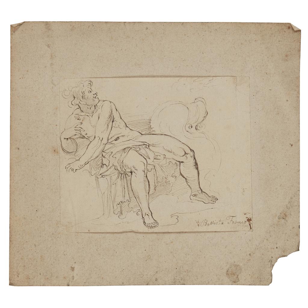 Lot 16-GIOVANNI BATTISTA FRANCO (ITALIAN 1498-1561)