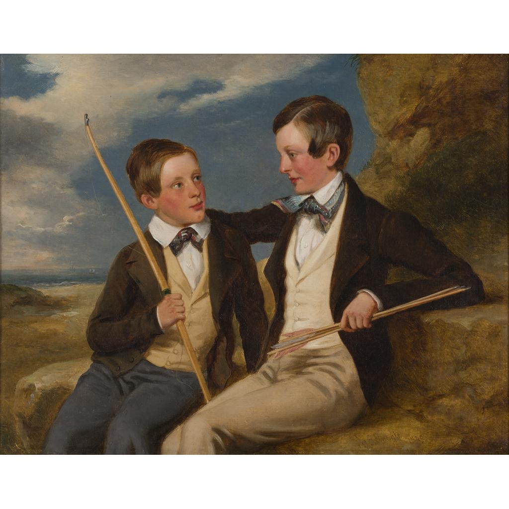 Lot 37-RICHARD RAMSAY REINAGLE (BRITISH 1775-1862)