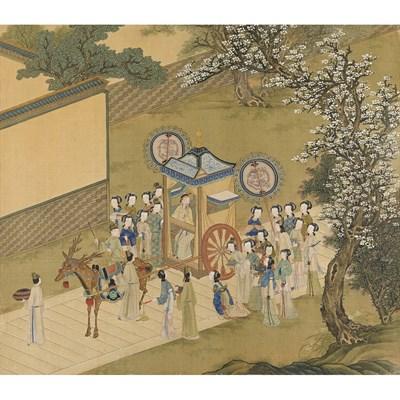 Lot 143 - CHINESE SCHOOL (18TH CENTURY)