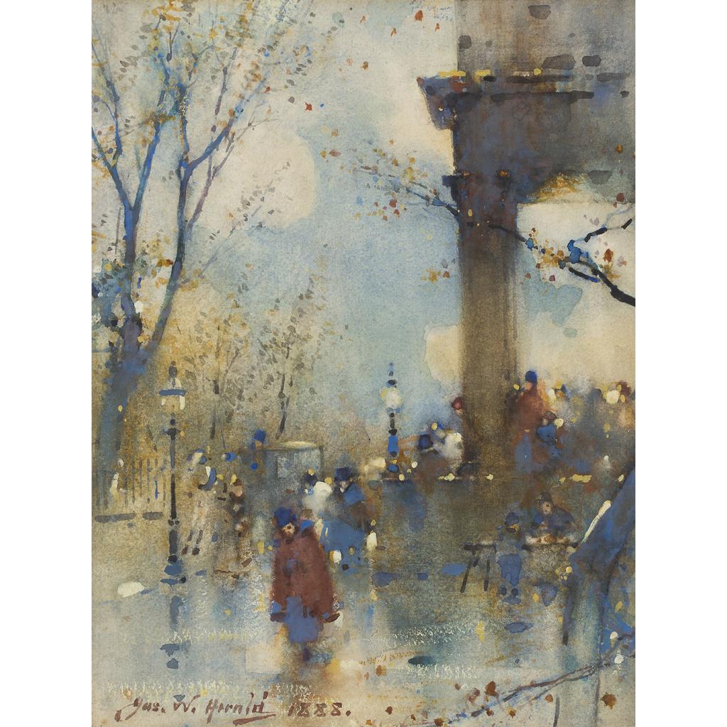Lot 3-JAMES WATTERSON HERALD (SCOTTISH 1859-1914)