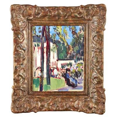 Lot 99 - JOHN DUNCAN FERGUSSON R.B.A. (SCOTTISH 1874-1961)
