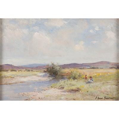 Lot 63 - JOSEPH MORRIS HENDERSON R.S.A. (SCOTTISH 1864-1936)