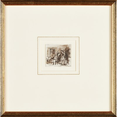 Lot 14-SIR DAVID WILKIE R.A. (SCOTTISH 1785-1841)