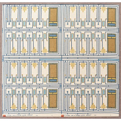 167 - FRANK LLOYD WRIGHT (1867-1959) FOR F. SCHUMACHER & CO.