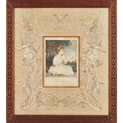 Lot 33 - ATTRIBUTED TO WALTER CRANE FOR THE ROYAL SCHOOL OF NEEDLEWORK