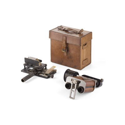 Lot 439-SCOTTISH HANDHELD OPTICAL TYPE N RANGEFINDER, BY GEORGE FORBES