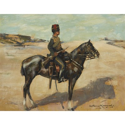 Lot 22-WILLIAM KENNEDY (SCOTTISH 1859- 1918)