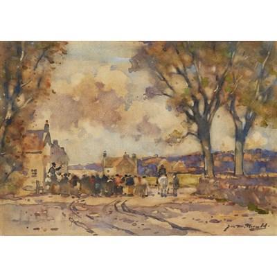 Lot 5-JAMES WATTERSTON HERALD (SCOTTISH 1859-1914)