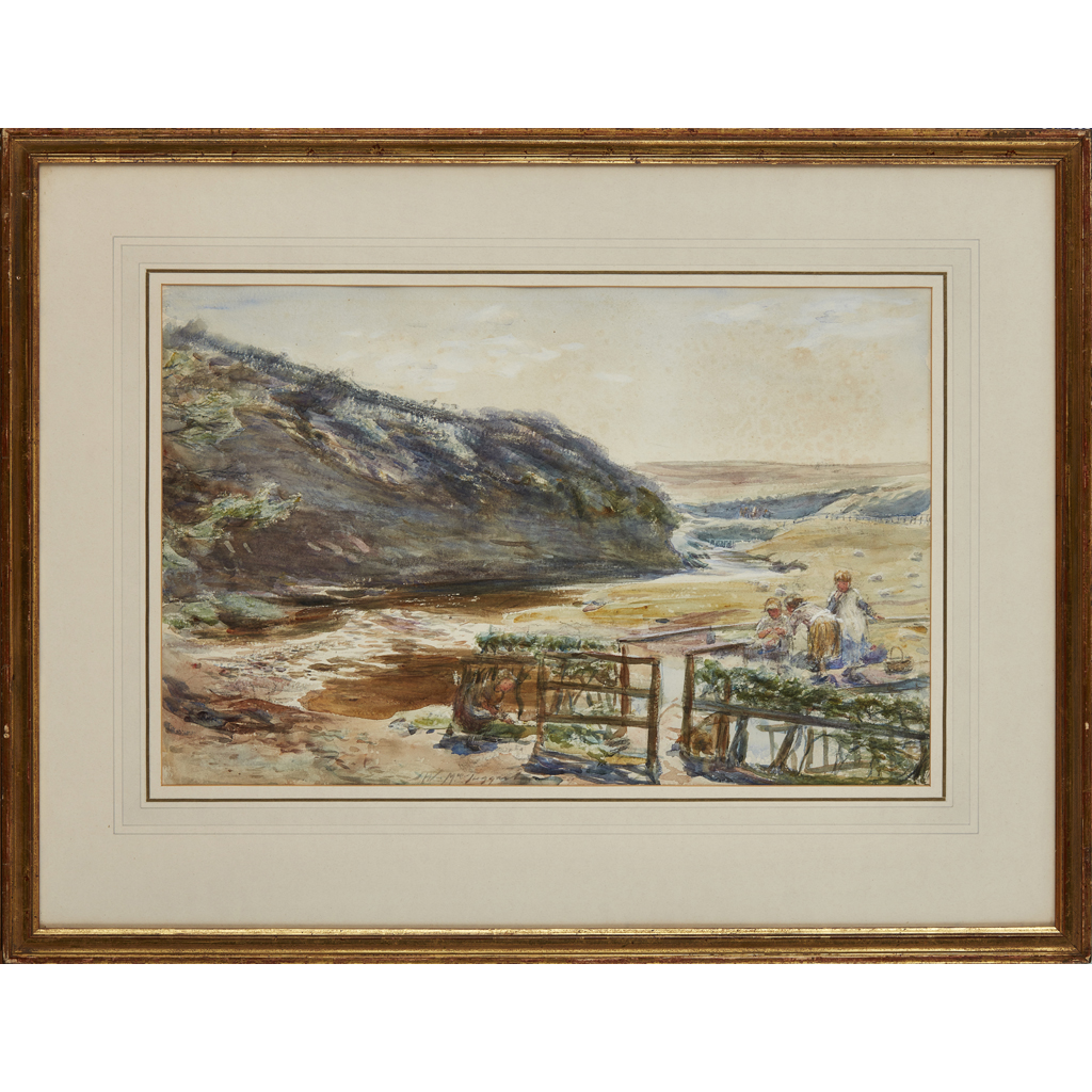 Lot 7-WILLIAM MCTAGGART R.S.A., R.S.W (1835-1910)
