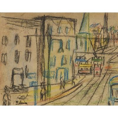 Lot 42 - DONALD BAIN (SCOTTISH 1904-1979)