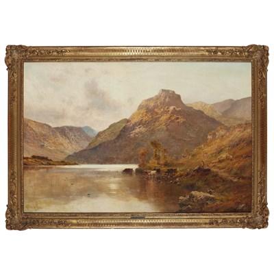 Lot 93 - ALFRED DE BREANSKI (BRITISH 1852-1928)