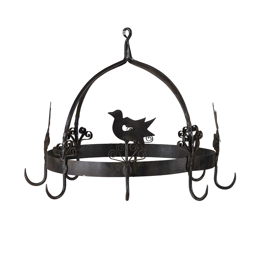 Lot 17-A WROUGHT IRON GAME CROWN