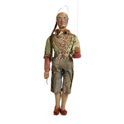 Lot 132-GROUP OF ENGLISH MARIONETTES