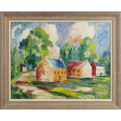 Lot 104 - DONALD BAIN (SCOTTISH 1904-1979)