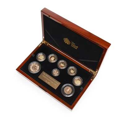 65 - U.K. - A cased gold proof coin set