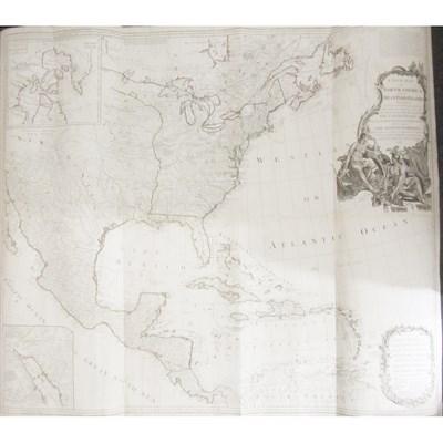 Lot 37-North America Map - Robert Sayer