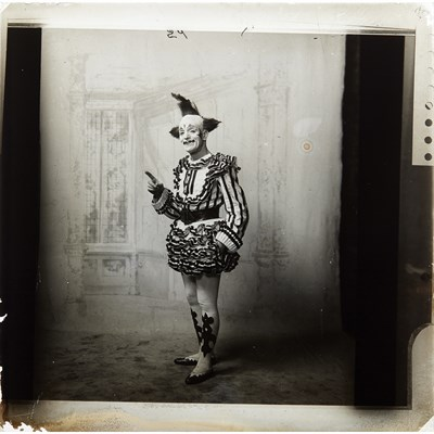 Lot 137-A RARE COLLECTION OF PUPPETRY-RELATED GLASS LANTERN SLIDES
