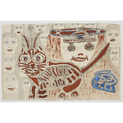 Lot 82 - UNKNOWN (20TH CENTURY)