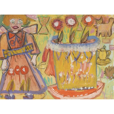 Lot 89 - UNKNOWN (20TH CENTURY)