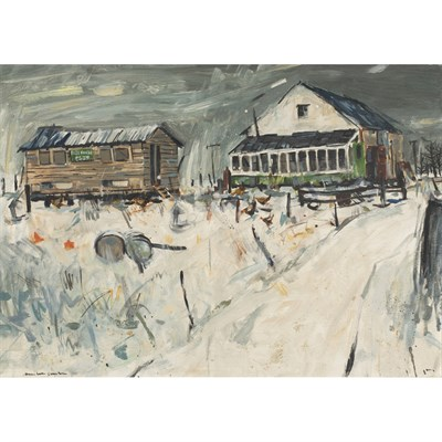 Lot 105 - HAMISH MACDONALD (SCOTTISH 1935-2008)